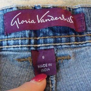 High waist Vintage Jeans Gloria Vanderbilt size 8